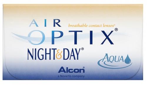 Air Optix® Night   Day® Aqua havi kontaktlencse 3 db 82d3b6e495