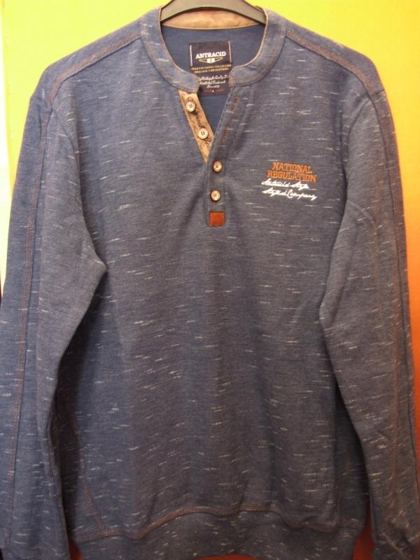 9078f1a712 Férfi pulóver Antracid