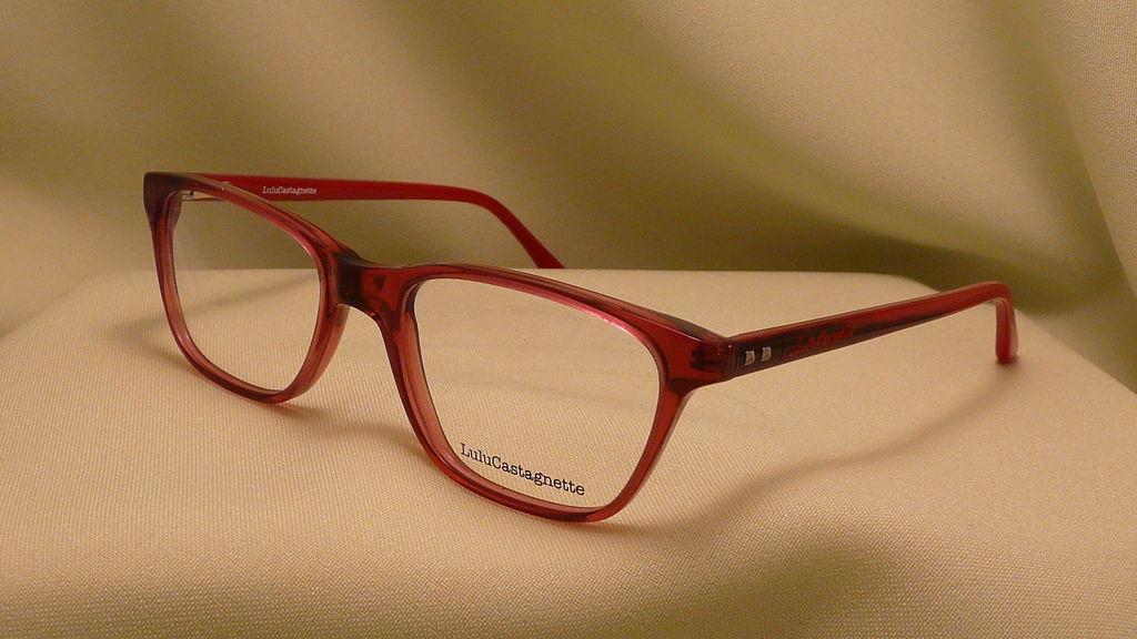 Lulu Castagnette szemüvegkeret bordó Szemüveg Debrecen
