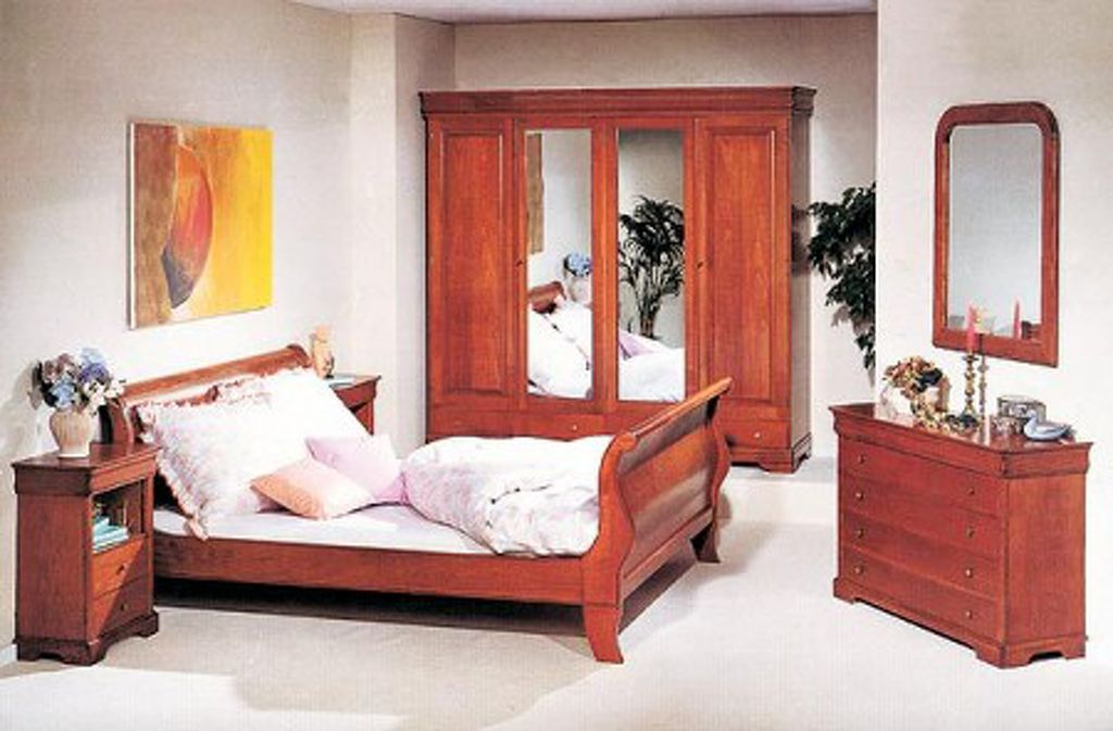 Hálószoba bútor Louis Philippe