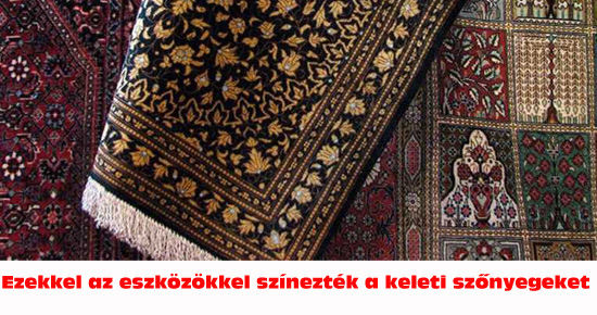 A keleti szőnyegek színezékei