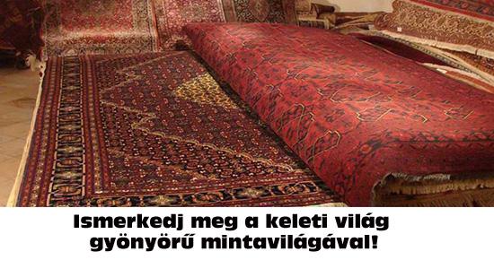 A keleti szőnyegek mintavilága