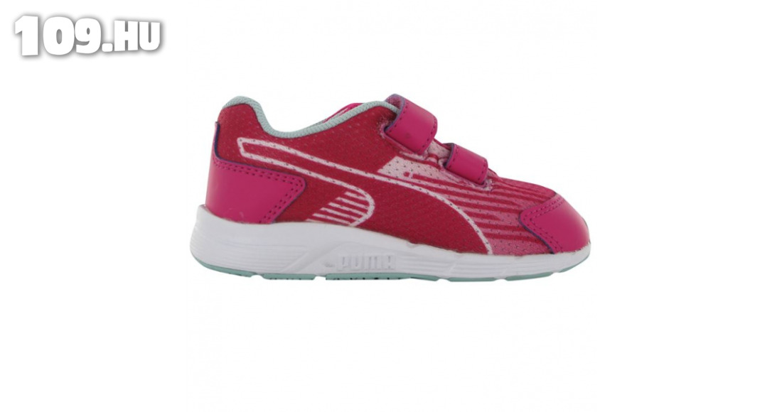 22 es fiú puma cipő Sequence inf 54 kék gyerek sportcipő. Akció!