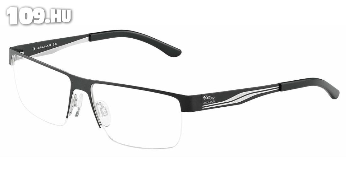 Jaguar férfi szemüvegkeret feketefehér Szemüveg Debrecen